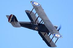 BAC_1221 (chris murkin) Tags: airco dh9 dehavilland aircraft airshow air bomber blur duxford display biplane plane prop photo propblur warbird wwi