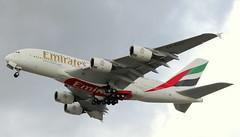 Emirates, A6-EVJ, MSN 0259, Airbus A 380-842, 02.10.2019,  XFW-EDHI, Hamburg Finkenwerder (henryk.konrad) Tags: emirates a6evj msn0259 airbus a388 380842 xfwedhi hamburgfinkenwerder henrykkonrad