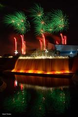 Greens (mwjw) Tags: disney disneyworld orlando florida epcot night nightshot longexposure mwjw markwalter epcotforever fireworks