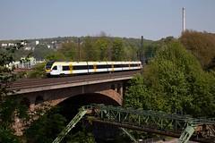 Eurobahn ET 7 08 - ERB 20218 Hamm(Westf) - Venlo  - Wuppertal Sonnborn (Rene_Potsdam) Tags: eurobahn treinen trains trenes treni züge spoorwegen deutschland duitsland germany railroad europe europa wuppertal nordrheinwestfalen