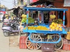 on the road, india (gerben more) Tags: ontheroad fruit india colours colors rajasthan