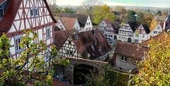 Zwingenberg Fachwerkhäuser (wernerfunk) Tags: architektur fachwerk hessen dorf village