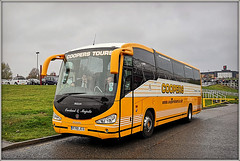 Coopers Tours R700 JCS (Jason 87030) Tags: irizar coach bus transport lunch food grimsby fish ntfc football game match northampton northants shot huawei tours fans mariners catch score soccer esult yellow white livery anything everything overland majestic vehicle scania