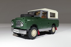 Series III Land-Rover SWB (Littlepixel™) Tags: swb lego moc 10wide afol land rover defender farm classic truck bricks 90 110 car 4wd awd 3 ninety range bronco cruiser scout harvester jeep military
