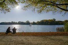 Maschsee (jörg_grontzki) Tags: segelboot boot boat lake travel travelpics city see leicaq niedersachsen hannover autumn herbst maschsee