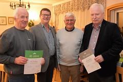 2019-11-23 Hainfeld GH Schöbinger Naturfreunde Mitgliederversammlung Ehrungen