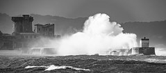 Socoa (jean-michel radet) Tags: tempest tempête vagues waves socoa paysbasque countrybasque mer sea olas euskadi digues