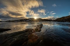 Plateau (RuneKC) Tags: aunfjellet norway troms nature wilderness landscape sunrise clouds mountain ice