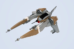 Butterfly VV (Faber Mandragore) Tags: lego moc scifi space fighter starfighter vic viper gradius vv microscale novvember faber mandragore fabermandragore