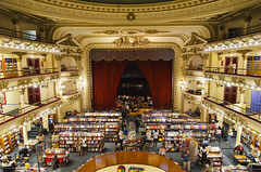 El Ateneo (Buenos Aires) (My Wave Pics) Tags: america argentina south sightseeing beautiful tourism famous site attraction capital federal aires buenos indoor buildings historical