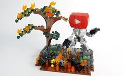 Tube Bot 04 (chubbybots) Tags: lego youtube mech