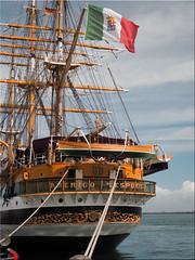 "The sail training ship ""Amerigo Vespucci"" of the Italian Navy in Warnemünde on the Baltic Sea (Ostseetroll) Tags: deu deutschland geo:lat=5417765931 geo:lon=1209264720 geotagged mecklenburgvorpommern rostock warnemünde segelschiff sailingship hansesail2019 ostsee balticsea olympus em5markii"