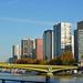 Le Pont Mirabeau et le Front-de-Seine (Paris)