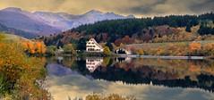 Mont-Dore (Puy-de-Dôme, Auvergne, Fr) – Le lac de Guéry (caminanteK) Tags: pêche lacdeguéry montsdore montdore auvergne automne france puydedôme