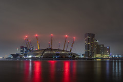 23.11.19 | The O2 Arena II (Jamie A. Hunter) Tags: canon canonphotography canoninc canonef24105mmf4lisusm canoneos5ds digital london londonskyline londonium night long longexposure meridian o2 o2arena primrosehill regents park aspen way aspenway riverthames river eastindia blackwall londonlive