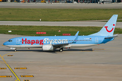 D-AHFB (PlanePixNase) Tags: stuttgart str edds echterdingen airport aircraft planespotting boeing 737800 737 b738 tui tuifly hapaglloyd hapagfly