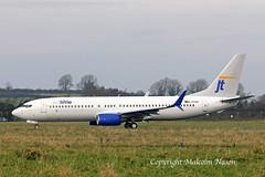 B737-8K5 D-ATUG (OY-JZM) JETTIME (shanairpic) Tags: jetairliner passengerjet b737 boeing737 shannon tui jettime iac datug oyjzm