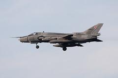 NTM 2018 Poznan EPKS : Polish air force  Su-22M-4 3715 21.BLT (Hermen Goud Photography) Tags: 3715su22m421blt airfields canon exercisecampagne militair ntm2018 oefening photo poland polen poznankrzesinyepks suchoisu22fitter tigermeet vliegvelden aircraft aviation