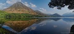 Grasmoore reflection (Tatters ✾) Tags: uk england lakedistrict crummock water lake reflection cumbria stitch pano panorama dxo myfavourite 30