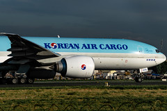 Korean Air Cargo - Boeing 777-FEZ(LRF) / HL8075 @ Manila (Miguel Cenon) Tags: ke ke77l kecargo kecargo77l hl8075 rpll airplane airplanespotting apegroup appgroup airport aircraft aviation planespotting ppsg philippines plane manila nikon naia d3300 wings wing window widebody widebodyjet wheel wide cargo cargoplane cargojet korean koreanair koreanaircargo boeing b777 b77f boeing777 boeing77f