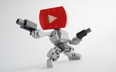 Tube Bot 01 (chubbybots) Tags: lego youtube mech