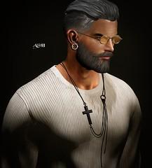 No850 (ashraf rathmullah) Tags: glasses bondi toy soldier sweater rkkn jons uber necklace gild cross catena necklaceblack