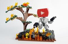 Tube Bot 06 (chubbybots) Tags: lego youtube mech