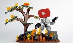 Tube Bot 05 (chubbybots) Tags: lego youtube mech