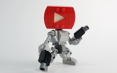 Tube Bot 03 (chubbybots) Tags: lego youtube mech