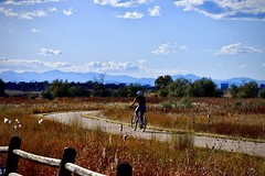Biking fun (wjaachau) Tags: october scenery scenic mountain trail biking park landscape nature colorado cherrycreekstatepark