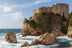 Lovrijenac (Tom van der Heijden) Tags: 60d canon canoneos60d cruise dubrovnik eos eos60d croatia dubrovnikcitywalls citywalls lovrijenac fortress fort