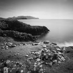 The Isle of Rum from Canna (Mark Rowell) Tags: canna sanday rum highlands scotland hasselblad 903 swc kodak ektar 120 6x6 mediumformat film