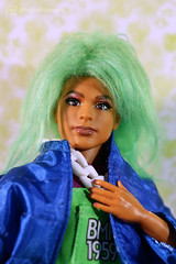michael's new wig (photos4dreams) Tags: barbie mattel doll toy photos4dreams p4d photos4dreamz barbies girl play fashion fashionistas outfit kleider mode puppenstube tabletopphotography diorama scenes 16 canoneos5dmark3 ken bmr1959 madetomove male man mann deboxed michael