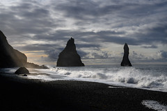 Reynisfjara Beach (Rico the noob) Tags: dof rock z7 landscape nature water outdoor stones sea iceland beach ocean published travel 2470mmf28s 2470mm horizon sky rocks stone 2019 clouds coast