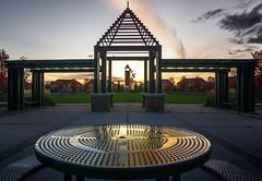 Autumn Reflections (JACK TOME) Tags: sundown park markham ontario table