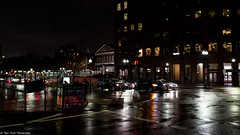 A rainy November night in the city (Thea Prum) Tags: boston city cityscape sony a7riii samyang 35mm f14 nightscape