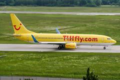 D-ATUI (PlanePixNase) Tags: aircraft airport planespotting haj eddv hannover langenhagen boeing 737800 737 b738 tui tuifly hapaglloyd hapagfly
