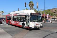MTS Bus (So Cal Metro) Tags: sanysidro sandiego c40lfr bus2912 rt906 bus metro transit mts sandiegotransit newflyer 2900