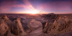 [ planet earth ] (Oliver Jerneizig) Tags: oliverjerneizigde wwwoliverjerneizigde oliverjerneizig usa us unitedstates america amerika nationalpark landscape landschaft sunset sunrise wilderness canon 6d canon6d2 6dmark2 utah nevada arizona newmexico moonscapeoverlook moonscape overlook hanksville torrey factorybutte capitolreef canyonlands panorama canyon