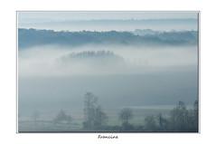 IMGP8589 (Francinen89) Tags: brume foggy brouillard fog paysage landscape nature bleu blue cold froid automne autumn bourgogne burgundy