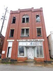 Old Masonic Lodge (jimmywayne) Tags: roanoke alabama randolphcounty historic downtown cherocola bottling bottler cola masoniclodge masonic decay nrhp nationalregister
