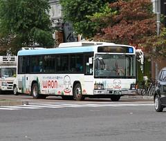 Nagoya Bus (Flame1958) Tags: 4222 waon waonbus buswaon nagoyabus nagoya japanbus publictransportjapan japan 231016 1016 2016 nagoyastreet
