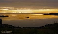 Golden Sunset (♥ Annieta ) Tags: annieta juli 2019 holiday vakantie vacances scandinavië camper reis voyage travel noorwegen norway kust coast finse sunset zonsondergang coucherdesoleil allrightsreserved usingthispicturewithoutpermissionisillegal