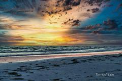 Setting of the sun (Twisted Lens) Tags: d850 nikon 2470mm beach sunset sa sand sun waves