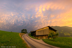 Mammatus over the Alps (mesocyclone70) Tags: mammatus weather storm thunderstorm anvil alps austria road clouds