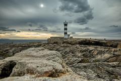 Lighthouse Colonia Sant Jordi II (VintageLensLover) Tags: leuchtturm landschaft landschaftsaufnahme mallorca küste balearen herbst november himmel wolken felsen natur outdoor sonya7iii tamron1728f28