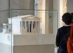 Model of the Erechtheion (Nemoleon) Tags: acropolismuseum october 2019 dsc04386 erechtheion architecturalmodel