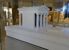 Model of the Temple of Athena Nike (Nemoleon) Tags: acropolismuseum october 2019 dsc04388 templeofathenanike architecturalmodel