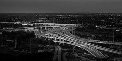 Hwy 59 at I-10 Interchange, Houston, Texas (Mabry Campbell) Tags: hariscounty houston i10w texas architecture blackandwhite building cars downtown freeway highway hwy59 image interchange photo road traffic f71 mabrycampbell march 2018 march222018 20180322houstoncampbellh6a3090 100mm ¹⁄₆₀sec iso100 ef100mmf28lmacroisusm fav10