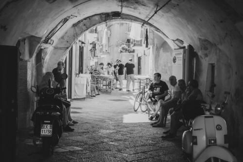 Porta di entrata a Bari vecchia